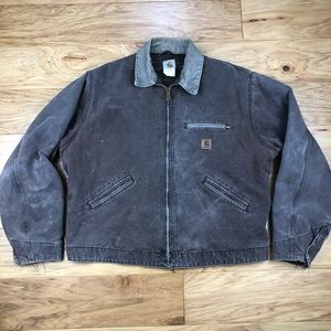 Vintage Blanlet Lined Carhartt USA Made Jacket
